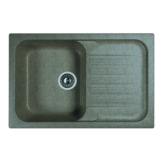 Кухонная мойка Dr.Gans Адель 780 25.090.C0780.407 черный (780х510 мм)