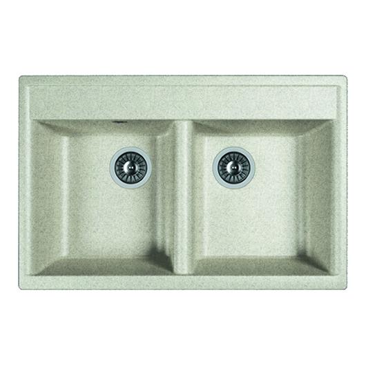 Кухонная мойка Dr.Gans Астра 780 25.060.E0780.408 серый (780х510 мм)