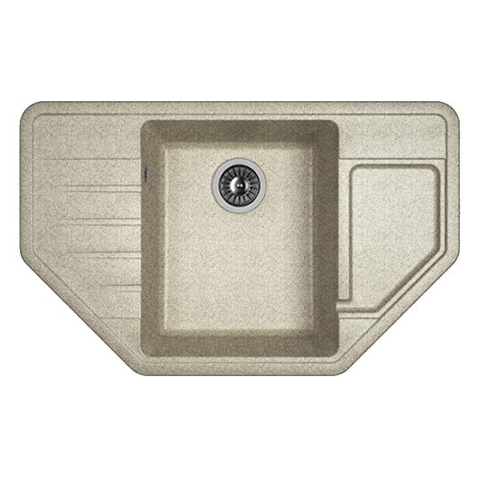 Кухонная мойка Dr.Gans Рио 25.080.C0800.408 серый (800х500 мм)
