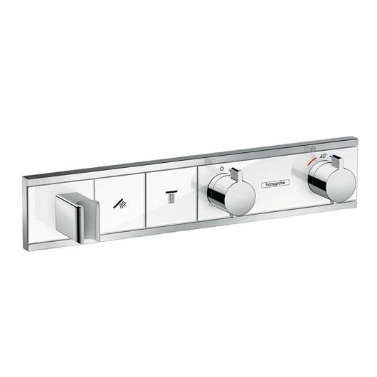 Термостат для ванны Hansgrohe RainSelect 15355400 (белый/хром)