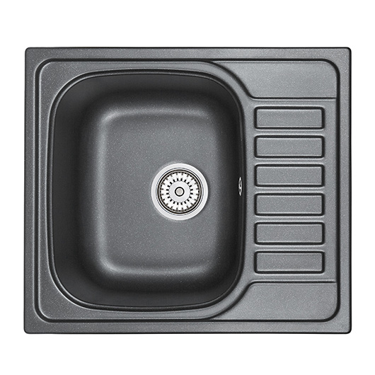 Кухонная мойка Granula GR-5801 Шварц (575х495 мм)