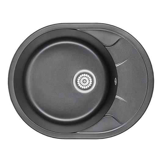 Кухонная мойка Granula GR-6301 Шварц (630х500 мм)