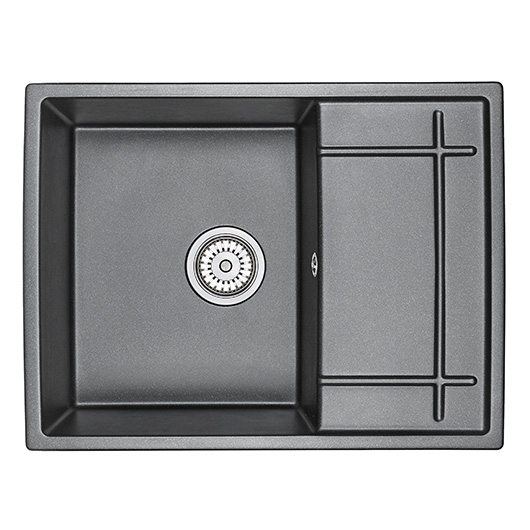 Кухонная мойка Granula GR-6501 Шварц (650х500 мм)