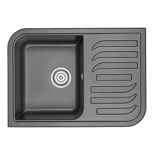 Кухонная мойка Granula GR-7001 Шварц (695х495 мм)