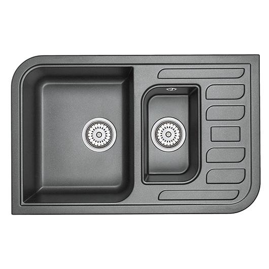 Кухонная мойка Granula GR-7803 Шварц (780х500 мм)