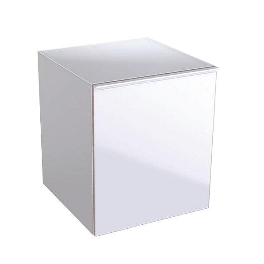 Боковой шкафчик Geberit Acanto 500.618.01.2 (белое стекло, 450х476 мм)