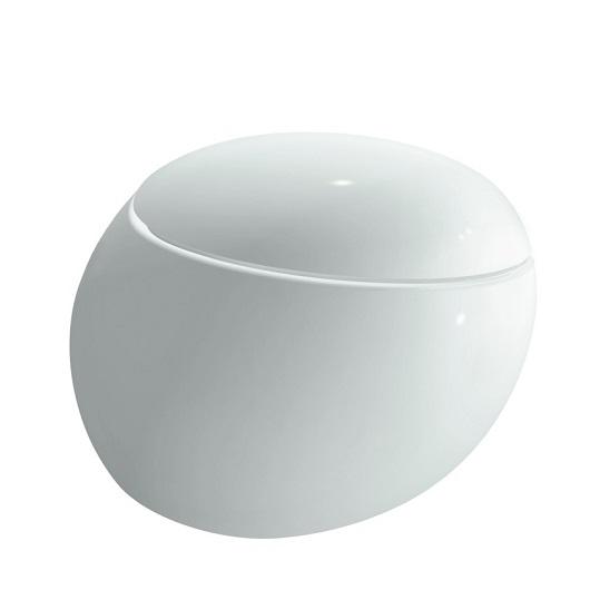 Чаша подвесного унитаза Laufen Alessi 2097.1 (8.2097.1.400.000.1, безободковая Rimless)