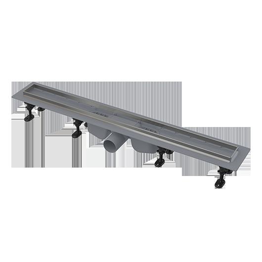 Водоотводящий желоб с порогами из нержавеющей стали AlcaPlast APZ22-950 (950 мм)