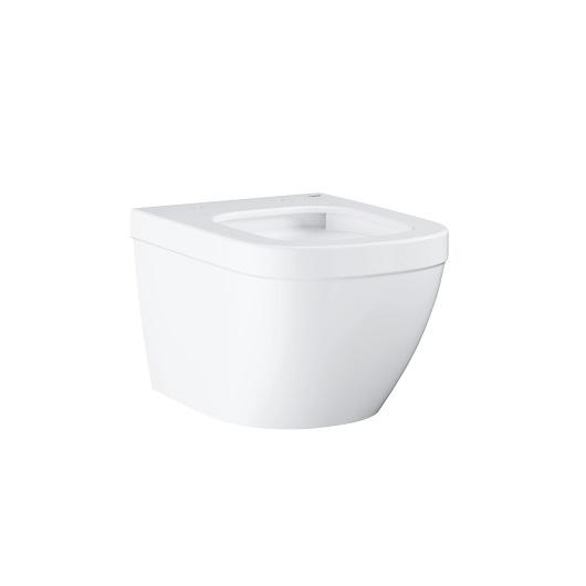 Чаша подвесного унитаза компакт Grohe Euro Ceramic 39206000 безободковая