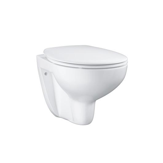 Унитаз подвесной Grohe Bau Ceramic 39351000 безободковый