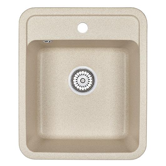 Кухонная мойка Granula Standard Рэндом ST-4202 Бежевый (420х500 мм)