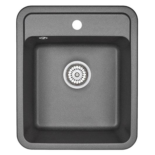 Кухонная мойка Granula Standard Рэндом ST-4202 Черный (420х500 мм)