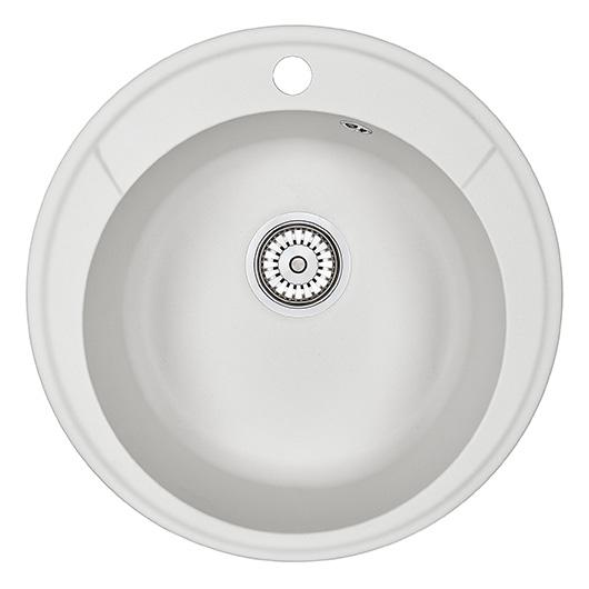 Кухонная мойка Granula Standard Оберон ST-4802 Белый (480 мм)
