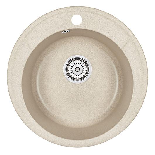 Кухонная мойка Granula Standard Оберон ST-4802 Бежевый (480 мм)