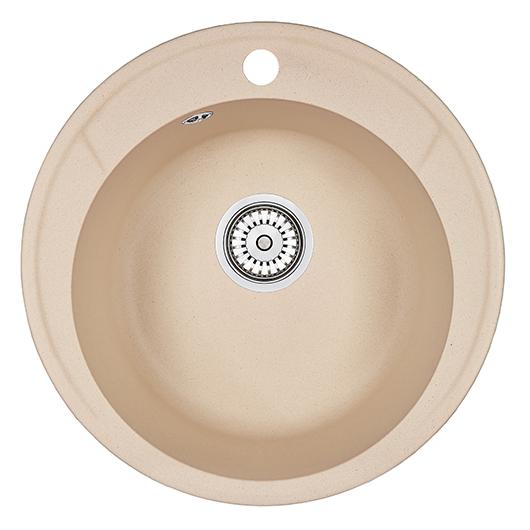 Кухонная мойка Granula Standard Оберон ST-4802 Брют (480 мм)