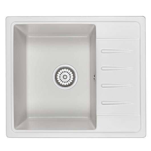 Кухонная мойка Granula Standard Рэндом ST-5803 Белый (580х500 мм)