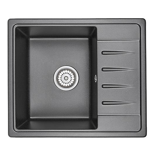 Кухонная мойка Granula Standard Рэндом ST-5803 Черный (580х500 мм)