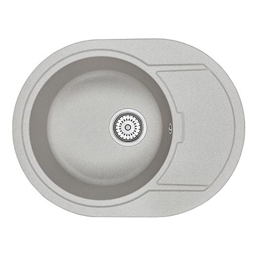 Кухонная мойка Granula GR-6502 Базальт (650х500 мм)