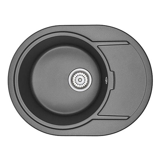 Кухонная мойка Granula GR-6502 Черный (650х500 мм)