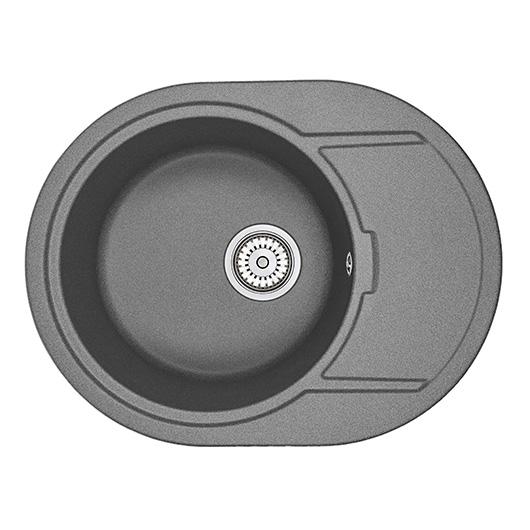 Кухонная мойка Granula GR-6502 Графит (650х500 мм)