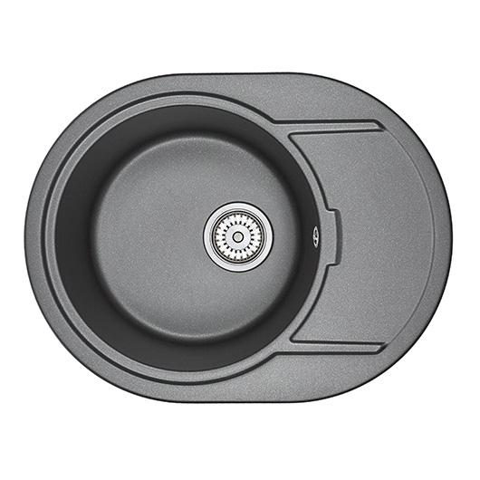 Кухонная мойка Granula GR-6502 Шварц (650х500 мм)