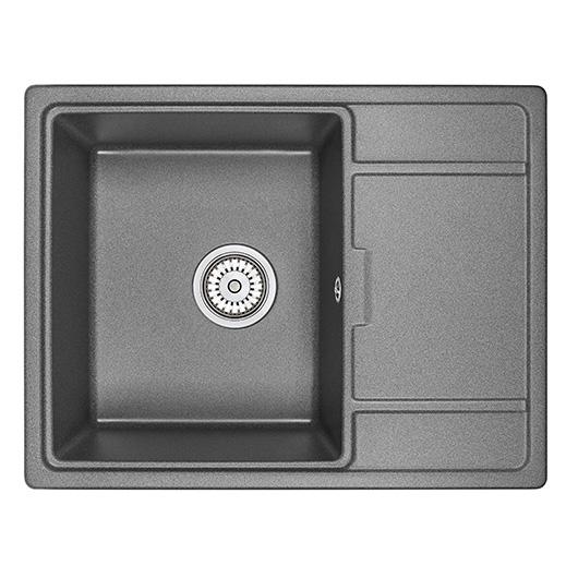 Кухонная мойка Granula GR-6503 Черный (650х500 мм)