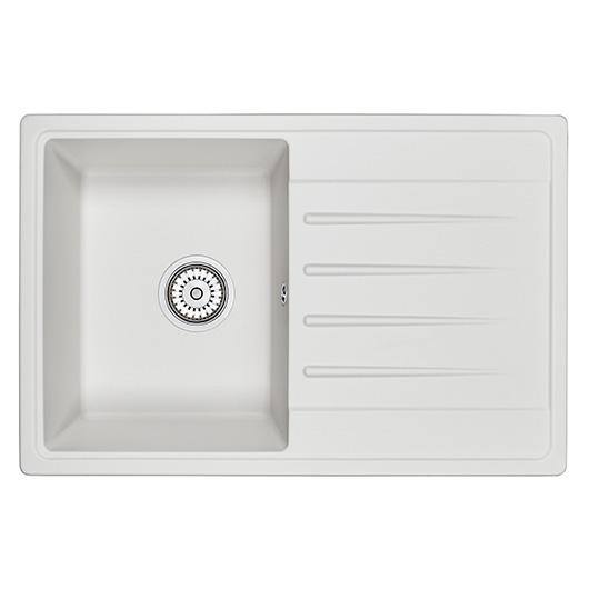 Кухонная мойка Granula Standard Рэндом ST-7602 Белый (760х500 мм)