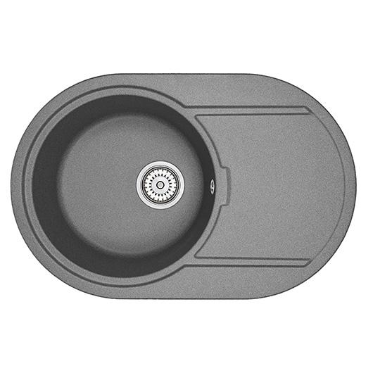 Кухонная мойка Granula GR-7603 Графит (760х500 мм)