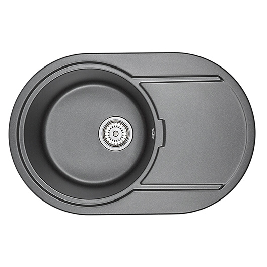 Кухонная мойка Granula GR-7603 Шварц (760х500 мм)