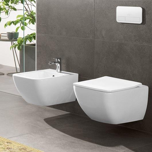 Биде подвесное Villeroy & Boch Venticello 4411 00 R1 (441100R1) CeramicPlus