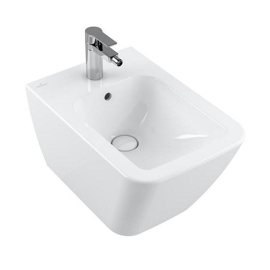 Биде подвесное Villeroy & Boch Finion 446500R1 (4465 00 R1) CeramicPlus