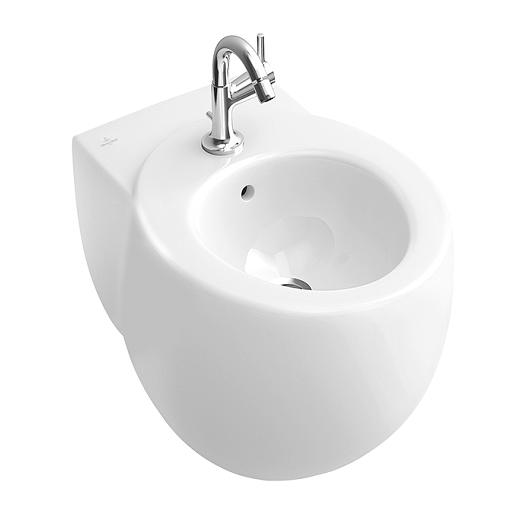 Биде подвесное Villeroy & Boch Aveo New Generation 7411 00 R2 (741100R2) Star White, CeramicPlus