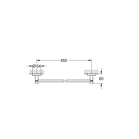 Полотенцедержатель Grohe Essentials 40688DC1