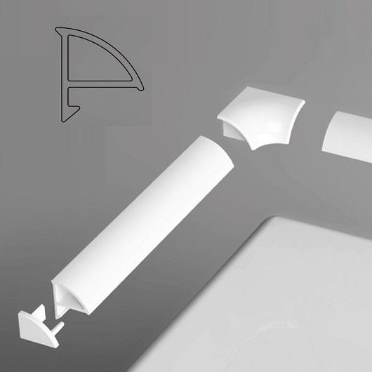 Декоративная планка Ravak 6/2000 XB442000001