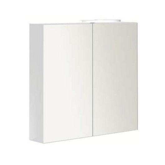 Зеркальный шкаф Villeroy & Boch 2DAY2 A438 80 E4 белый глянцевый (A43880E4) 800х740 мм
