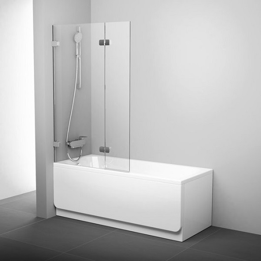 Шторка для ванны Ravak Brilliant BVS2-100 L 7ULA0A00Z1 (Левая)