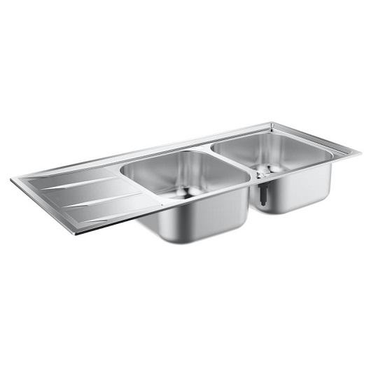 Мойка кухонная Grohe K400 31587SD0 (1160х500 мм)