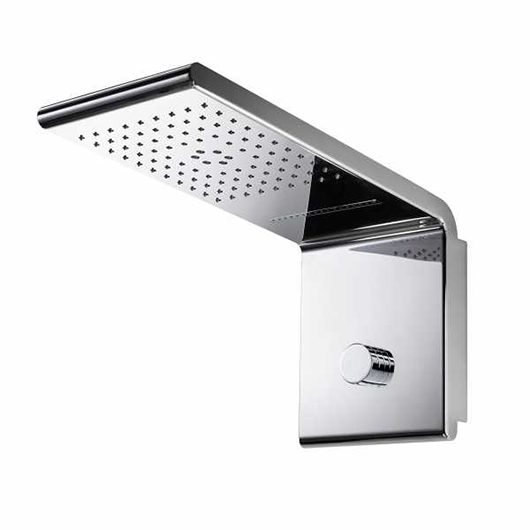 Верхний душ Bossini Syncro-Neb 3 I00590 CR (450х200 мм)