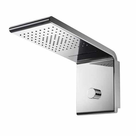 Верхний душ Bossini Syncro-Rain 3 I00591 CR (450х200 мм)