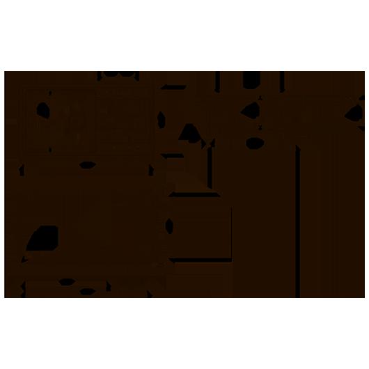 Мойка Florentina Комби 860 антрацит (21.400.D0860.302) 860х480 мм