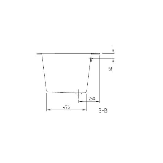 Ванна квариловая Villeroy & Boch Oberon 2.0 170х75 UBQ170OBR2DV-01 (белый Alpin)