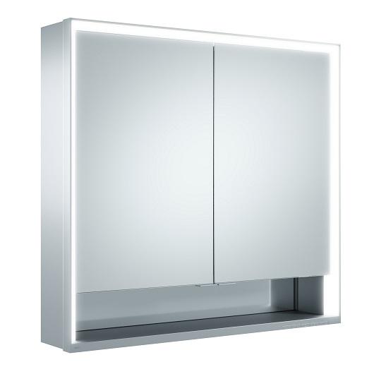Зеркальный шкаф Keuco Royal Lumos 14302 171301 (800х735 мм)