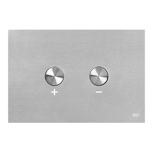 Смывная клавиша OLI BLINK нержавеющая сталь 093399 (пневматическая)