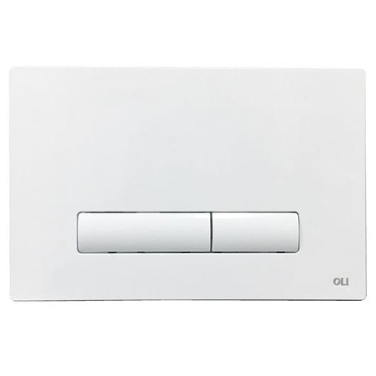 Смывная клавиша OLI GLAM белая 139184 (механическая)