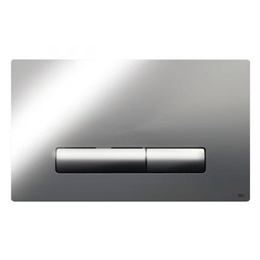 Смывная клавиша OLI GLAM хром глянцевый 139185 (механическая)