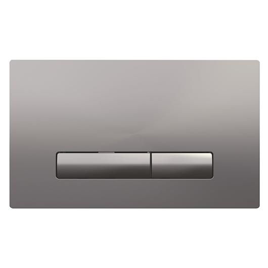 Смывная клавиша OLI GLAM хром матовый 139186 (механическая)