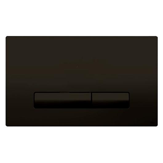 Смывная клавиша OLI GLAM черный Soft-touch 139187 (механическая)