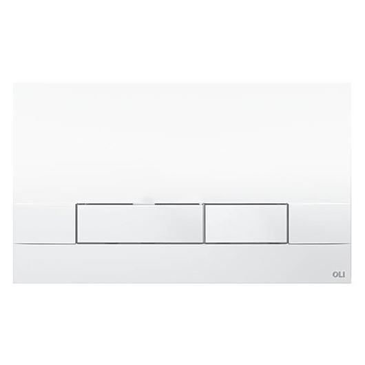Смывная клавиша OLI NARROW белая 152939 (механическая)