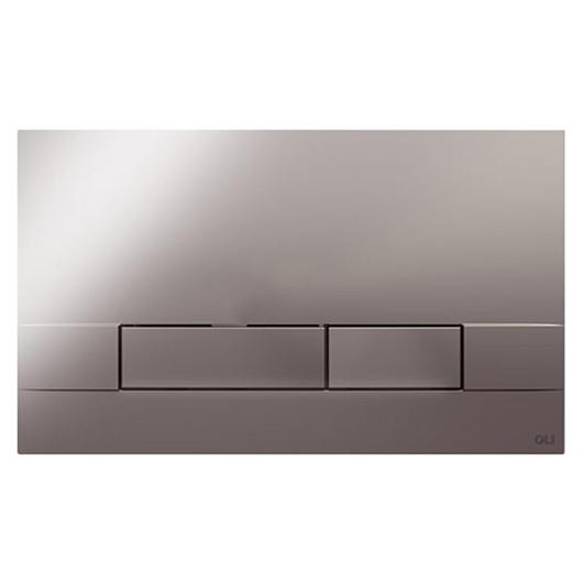 Смывная клавиша OLI NARROW хром глянцевый 152940 (механическая)