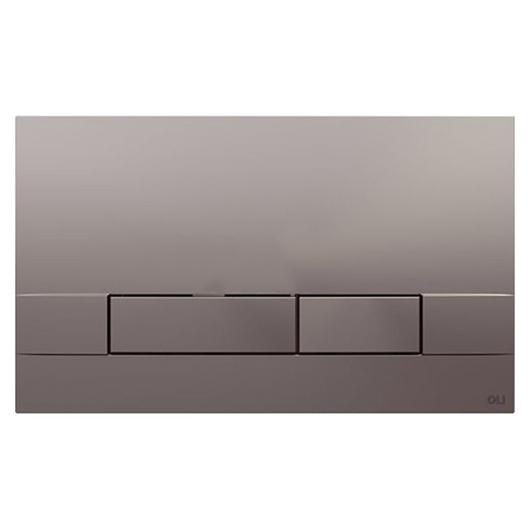 Смывная клавиша OLI NARROW хром матовый 152941 (механическая)